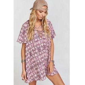 5711c28c4d9 Show Me Your MuMu Dresses - Show Me Your Mumu Pink Rancho Vista Tunic Dress